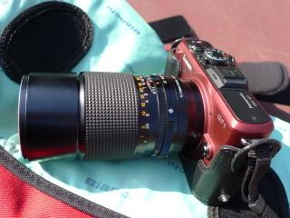 KONICA HEXANON AR 135mm/F3.2